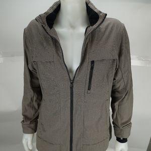 Lululemon Zip Up Jacket w/ Hidden Zip In Hood